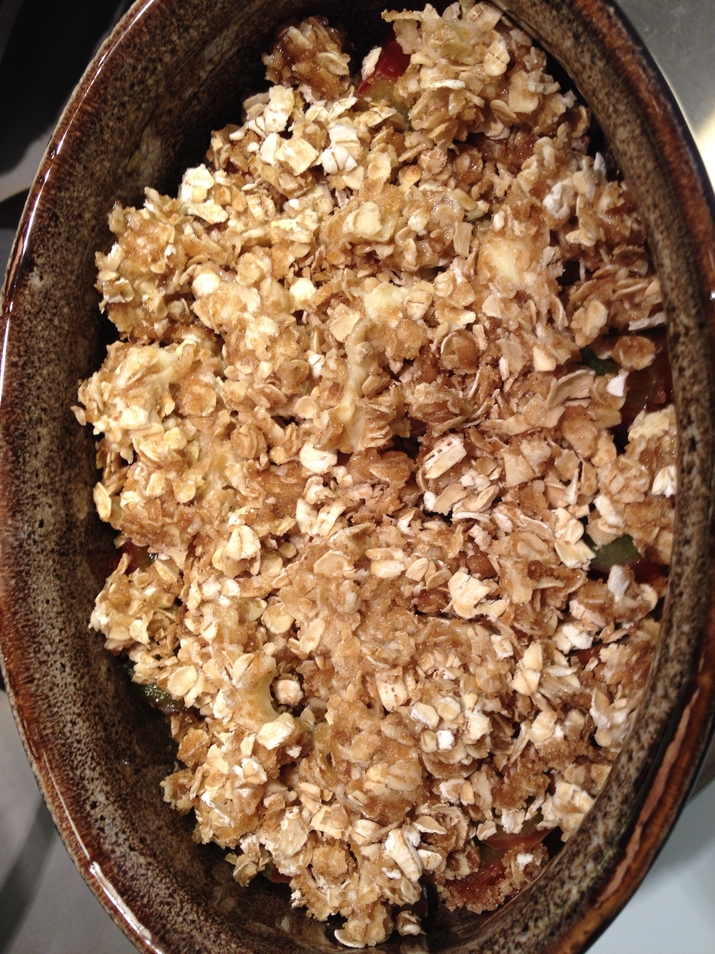 Crumb topping